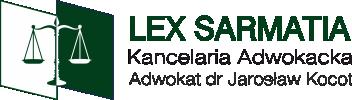 Lex Sarmatia Kancelaria Adwokacka Adwokat dr Jarosław Kocot